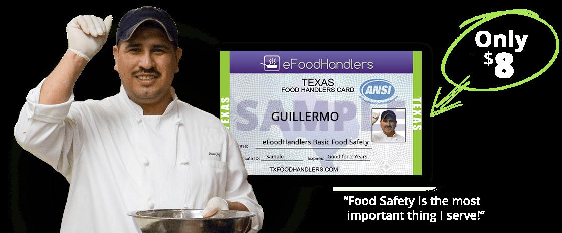 Texas Food Handlers Certificate Efoodhandlers 8